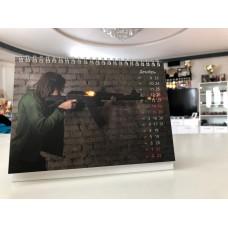 Календарь (февраль 2019 - январь 2020) с Алёной Карелиной