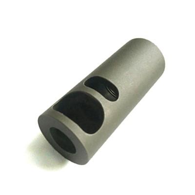 Титановый дульный тормоз-компенсатор (ДТК) MuzzlePro калибра 9х19 для Сайги 9